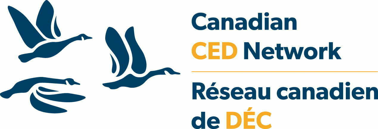 Logo for Réseau canadien de développement économique communautaire