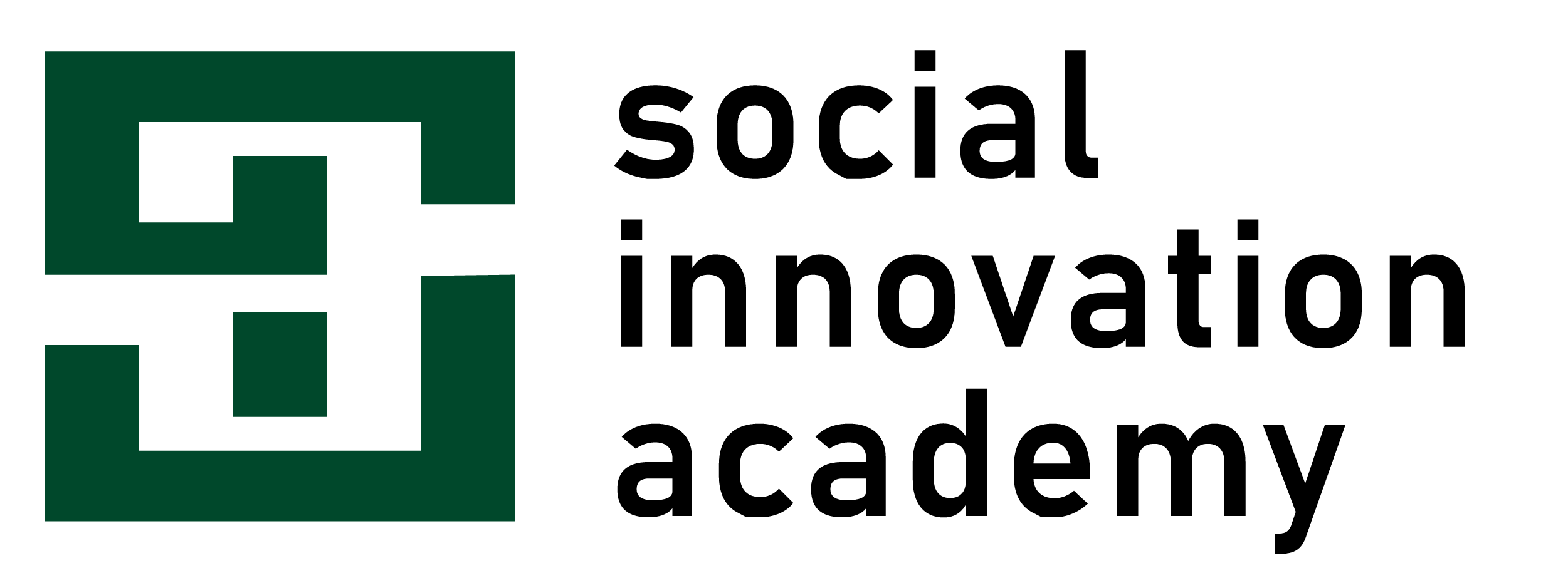 Logo for Social Innovation Academy